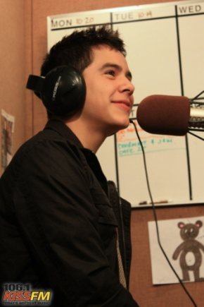 David Archuleta @ 106.1 KISS-FM