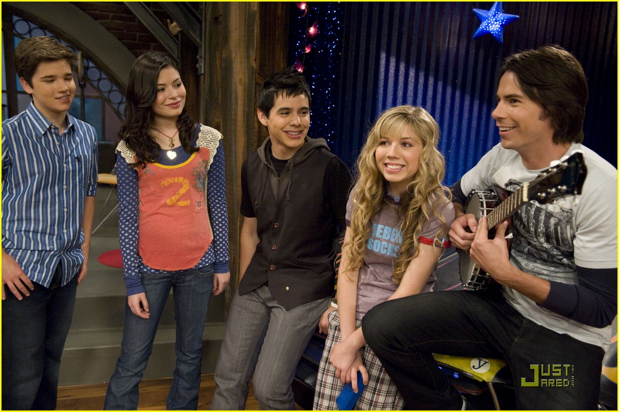 ICarly set pictures   David Archuleta Photo Gallery  ICarly set pict...