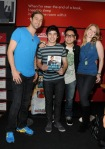 Casey James, David Archuleta, Andrew Garcia and Didi Benami (3)