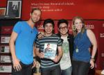 Casey James, David Archuleta, Andrew Garcia and Didi Benami (2)