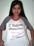 David Archuleta signed Bench T-shirt