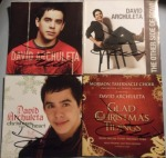 David Archuleta's autograph on 4 of his albums