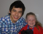 Lindsey with David Archuleta- Champions Across America