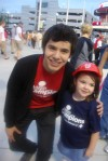 Rachel the Champion and David Archuleta