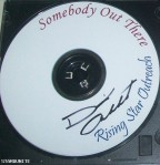 Somebody Out There single signed by David Archuleta