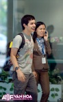 David Archuleta arriving at TSN Airport, HCMC, Vietnam (4)