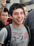 David Archuleta arriving at TSN Airport, HCMC, Vietnam (40)