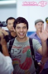 David Archuleta arriving at TSN Airport, HCMC, Vietnam (47)