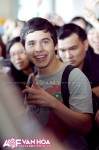 David Archuleta arriving at TSN Airport, HCMC, Vietnam (48)