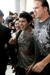 David Archuleta arriving at TSN Airport, HCMC, Vietnam (52)