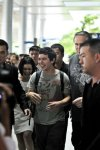 David Archuleta arriving at TSN Airport, HCMC, Vietnam (55)